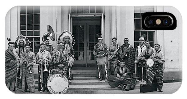 Us Indian Band Washington Dc IPhone Case