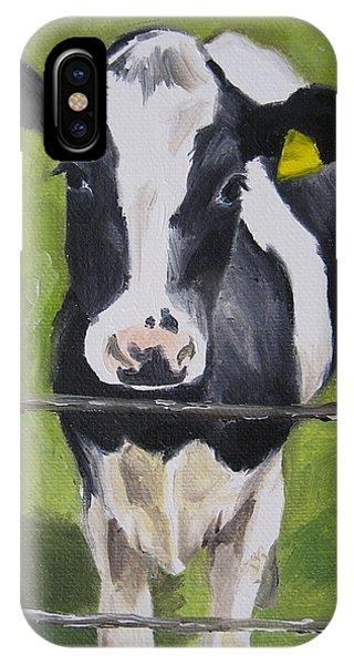 A Heifer IPhone Case