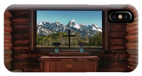 A Pew With A View IPhone Case