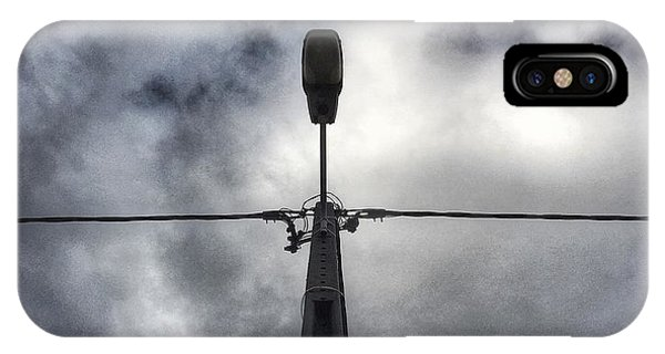 IPhone Case featuring the photograph A Street Lamp  by Dirk Jung