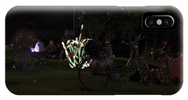 IPhone Case featuring the photograph Bicycle On The Lawn by Dirk Jung
