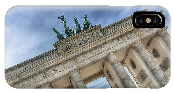 IPhone Case featuring the photograph Brandenburg Gate by Dirk Jung