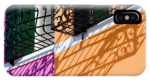 Burano Houses IPhone Case