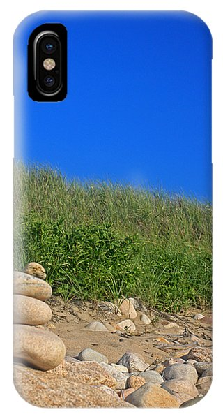 Cairn Dunes And Moon IPhone Case