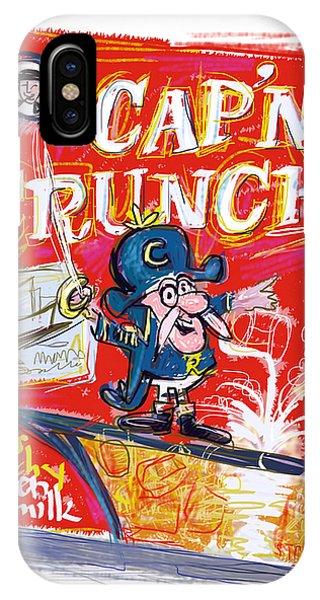 Capn Crunch IPhone Case