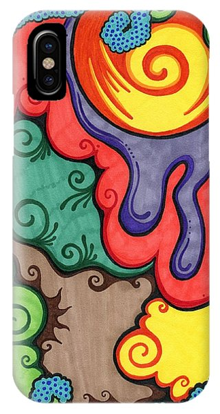 Caribbean Colors IPhone Case