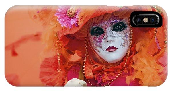 Carnival In Orange IPhone Case