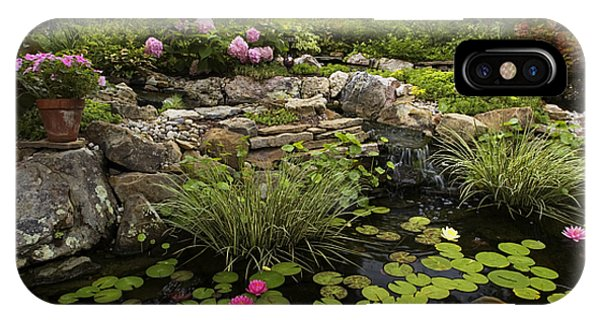 Garden Pond - D001133 IPhone Case