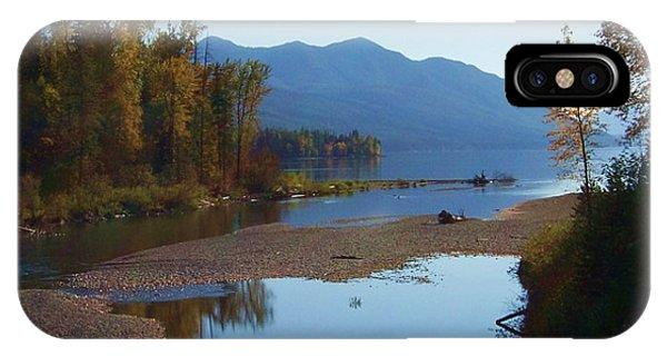 Glacier Park 11 IPhone Case