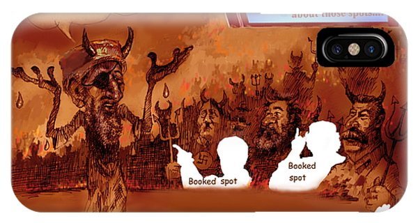Hell Booked Up IPhone Case