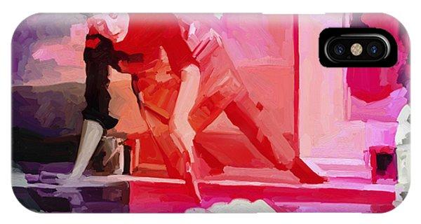 Homage To Helen Frankenthaler 1928 2011 IPhone Case