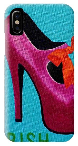 Boa Constrictor iPhone Case - Irish Burlesque Shoe    by John  Nolan