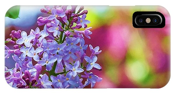 Lilacs 2012 IPhone Case