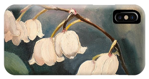 Lily Whites IPhone Case