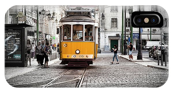 Lisboa Tram II IPhone Case
