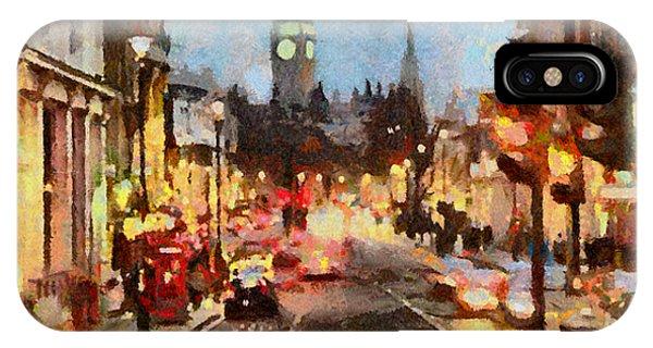 London Scene IPhone Case