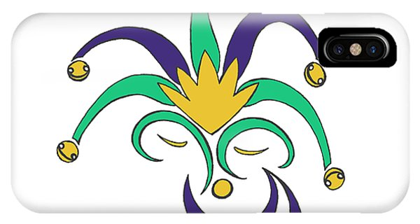 Mardi Gras Jester IPhone Case