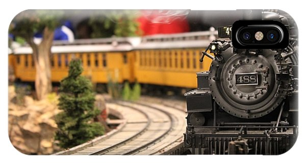 Model Train IPhone Case