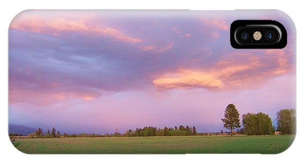 IPhone Case featuring the photograph Montana Sunsets 3 by Deahn      Benware