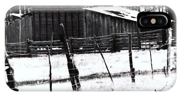 Old Barn Alpine Az  IPhone Case