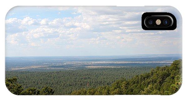 Overlooking Pinetop IPhone Case