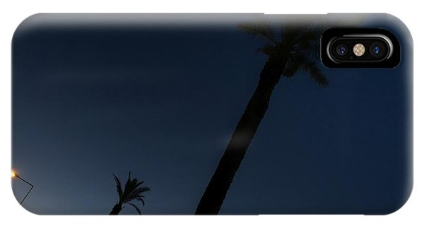 IPhone Case featuring the photograph Palm Trees In The Early Morning by Dirk Jung