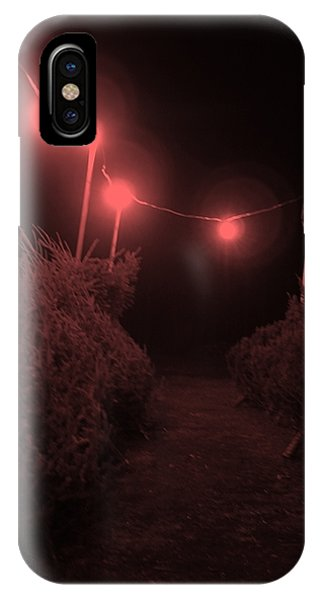 Red Night Phone Case by John  Bichler