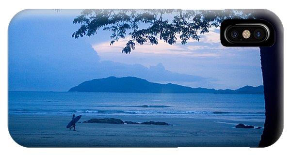 Strolling Surfer IPhone Case