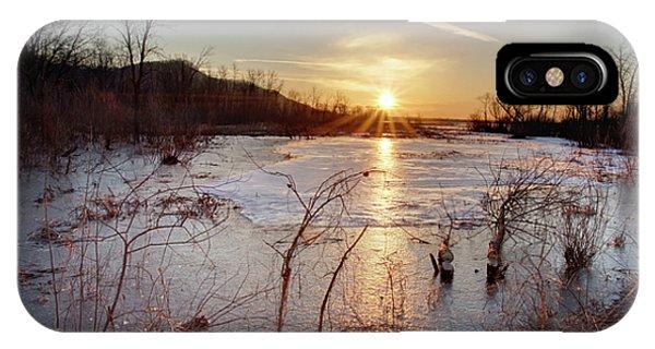 Sunrise At The Refuge IPhone Case