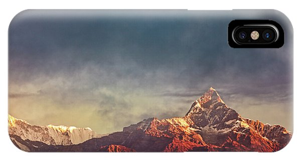 Sunrise On Anapurna IPhone Case