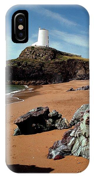 Twr Mawr On Ynys Llanddwyn IPhone Case
