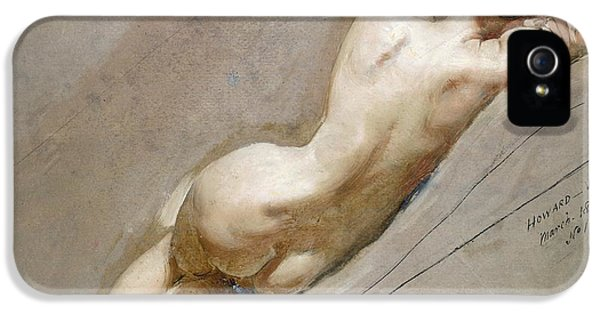 Life Study Of The Female Figure IPhone 5 Case by William Edward Frost