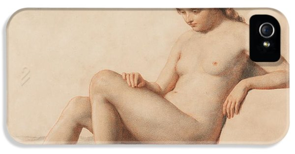 Study Of A Nude IPhone 5 Case by William Mulready