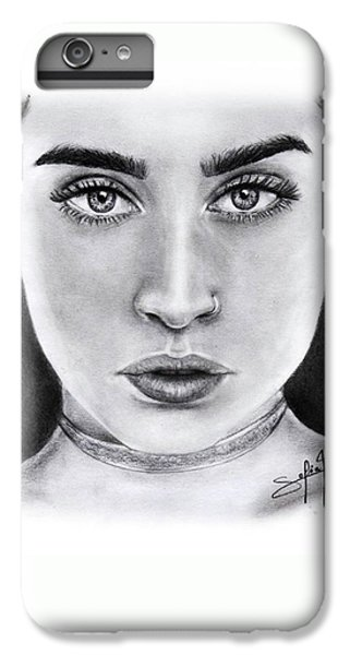 Lauren Jauregui Drawing By Sofia Furniel  IPhone 6 Plus Case