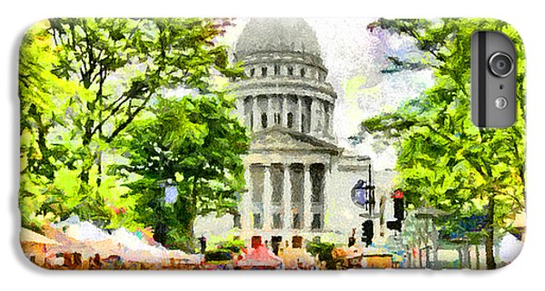 Capitol Building iPhone 6 Plus Case - Saturday In Madison by Anthony Caruso