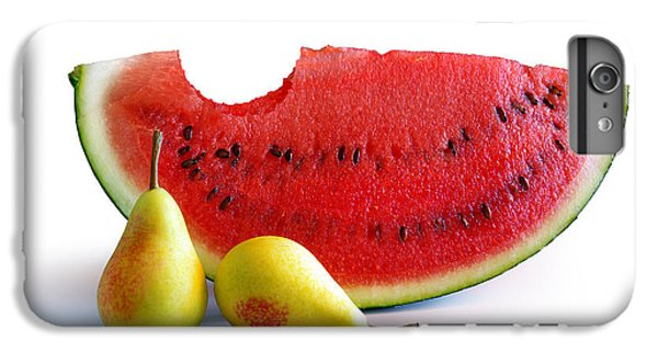 Watermelon And Pears IPhone 6s Plus Case by Carlos Caetano