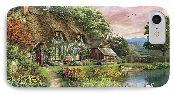 The Sunset Cottage IPhone Case by Dominic Davison