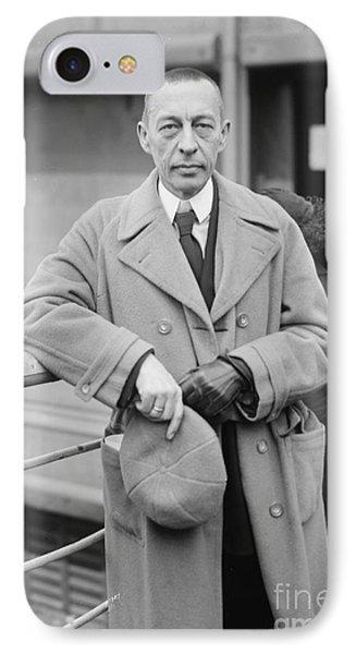 Sergei Rachmaninoff Phone Case by Granger