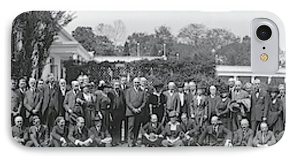 Group Including Einstein And Harding IPhone Case