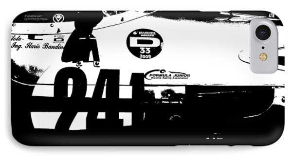Laguna Seca Racing Cars 2 IPhone Case by Naxart Studio