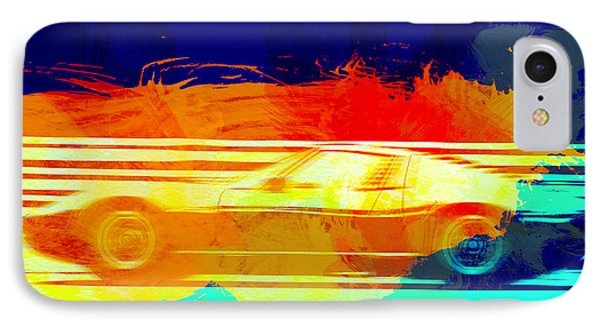 Lamborghini Miura Side 1 IPhone Case by Naxart Studio