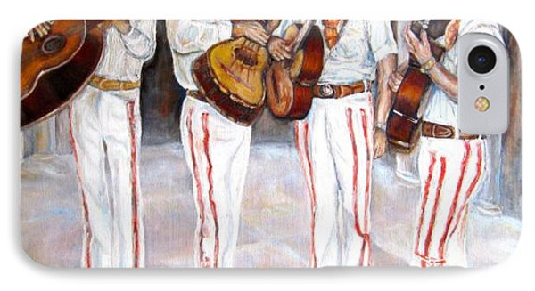 Mariachi  Musicians IPhone Case by Carole Spandau