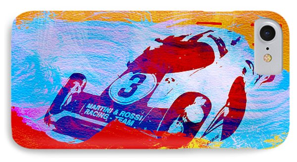 Porsche 917 Martini And Rossi IPhone Case by Naxart Studio