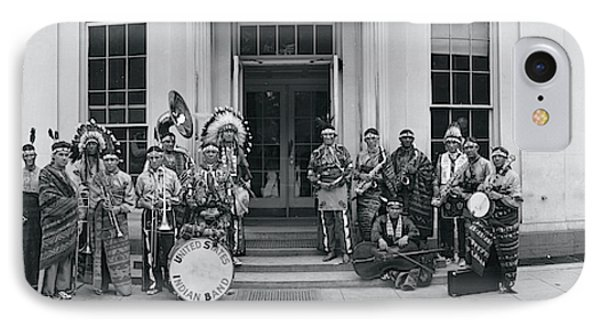 Us Indian Band Washington Dc IPhone Case