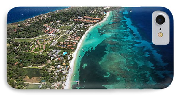 West End Roatan Honduras IPhone Case