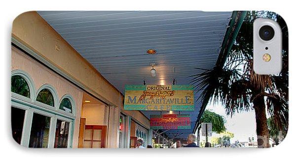 Jimmy Buffet's Margaritaville Key West Phone Case by Susanne Van Hulst