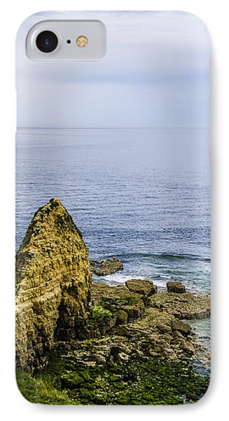 IPhone Case featuring the photograph Pointe Du Hoc by Marta Cavazos-Hernandez