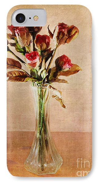 Vintage Roses Phone Case by Judi Bagwell