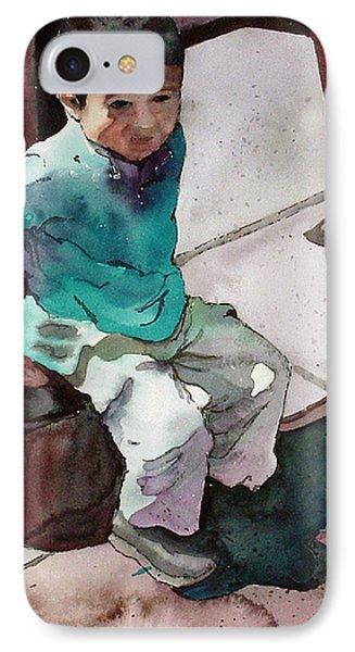Andrew IPhone Case by Yolanda Koh