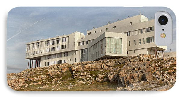Fogo Island Inn IPhone Case by Eunice Gibb